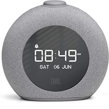 Тонколона JBL Horizon 2, 2.0, RMS (4W + 4W), Bluetooth, сива, аларма, радио image