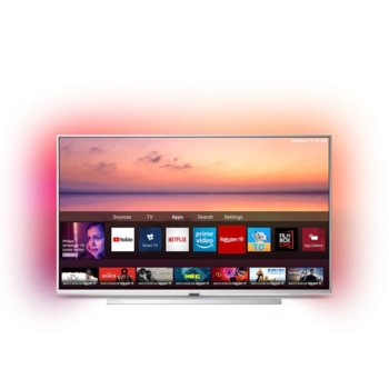 "Телевизор Philips 65PUS6804/12, 65"" (165.1 cm) LED Smart TV, 4K/UHD, DVB-T/T2/T2-HD/C/S/S2, LAN, Wi-Fi, 3x HDMI, 2x USB  image"