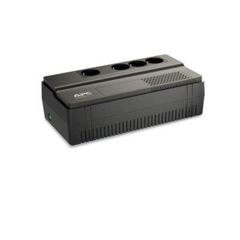 UPS APC Back-UPS BV 800VA AVR Schuko Outlet, 800VA/450W, аларма при нисък заряд image