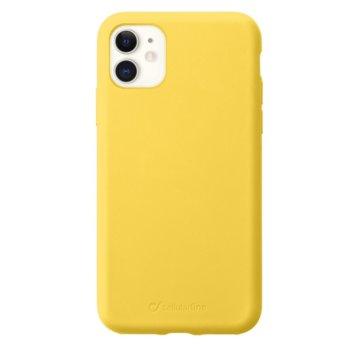 Cellular Line Sensation за iPhone 11, Жълт product