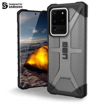Калъф за Samsung Galaxy S20 Plus, хибриден, Urban Armor Plasma 211983113131, удароустойчив, черен-прозрачен image