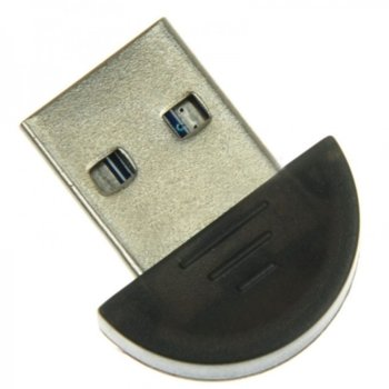 Адаптер Bluetooth USB Dongle, Bluetooth 2.0, черен image