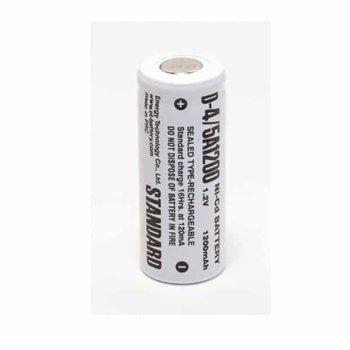 Акумулаторна батерия Energy Technology 4/5A1200 D, 4/5A, 1.2V, 1200mAh, Ni-Cd, 1 бр. image