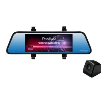 """Видеорегистратор Prestigio RoadRunner 410DL, за автомобил, 2.0 Mpix (1920x1080@30fps) камери, 6.86"""" (17.42 cm) LCD дисплей, Micro SD/SDHC слот image"""