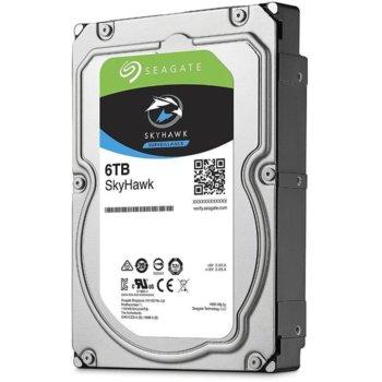 """Твърд диск 6TB Seagate SkyHawk Guardian ST6000VX001, SATA 6Gb/s, 5400rpm, 256MB кеш, 3.5""""(8.89 cm) image"""