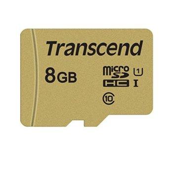 8GB microSD Transcend TS8GUSD500S product