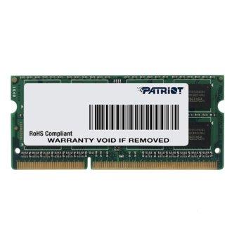 Памет 8GB DDR3L 1600MHz, Patriot Signature PSD38G1600L2S, 1.35V image