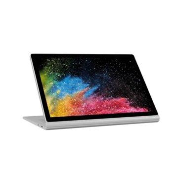 "Лаптоп Microsoft Surface Book 2 (HMW-00025)(сребрист), двуядрен Kaby Lake Intel Core i5-7300U 2.6/3.5 GHz, 13.5"" (34.29 cm) 10 point multi-touch Glare PixelSense Display, (mDP), 8GB, 256GB SSD, 1x USB Type-C, Windows 10, 1.64 kg image"