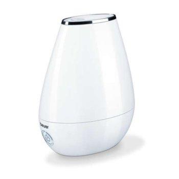 Овлажнител на въздух Beurer LB 37, 2 л., за помещения до 20 кв. м, LED индикатор, автоматично изключване, бял image