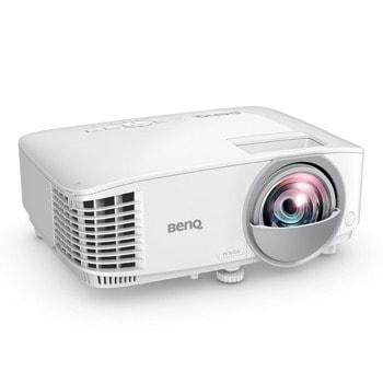 Проектор BenQ MW809STH, DLP, WXGA (1280x800), 12 000:1, 3600 lm, 2x HDMI, LAN, USB (Type Mini B), RS232  image