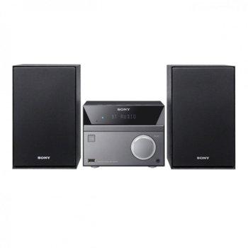 Мини аудио система, Sony CMT-SBT40D с Bluetooth image