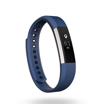 Fitbit Alta Large Size Blue Silver FB406BUS-EU product