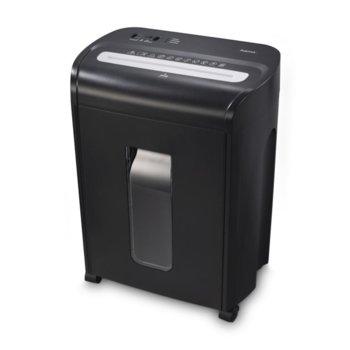 Шредер, HAMA Premium M8, до 10 листа А4, пластмасови карти, функция за автоматичен старт и стоп, функция връщане на хартията, image