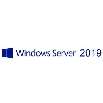 Сървърен софтуер Microsoft Windows Server Standard 2019, 64Bit, Английски, 1pk DSP, OEI DVD, 24 Core image