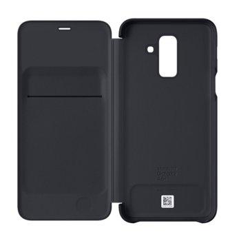 Калъф за Samsung Galaxy A6+ (2018), отваряем, черен image