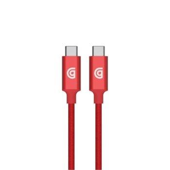 Кабел Griffin Premium, от USB Type-C(м) към USB Type-C(м), 1.5m, червен image