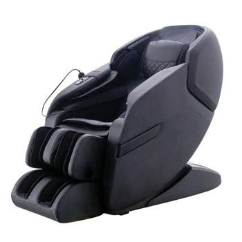 "Масажен стол Rexton Z2-BL, 3D масаж, 10 автоматични програми, режим ""нулева гравитация"", вграден пулт за управление, Bluetooth, черен image"