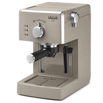 Кафемашина GAGGIA Viva Chic, 1025 W, 15 bar, Crema филтър, бежова image
