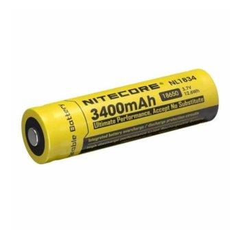 Акумулаторна батерия Nitecore NL1834, 3400mAh, Li-ion, защитена, 1 бр. image