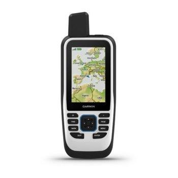 """Ръчна навигация Garmin GPSMAP 86s (010-02235-01), 3"""" (7.62 cm) TFT дисплей, IPX7 водоустойчивост, microSD слот, Bluetooth, до 35 часа време за работа в 10 минутен режим на проследяване/ до 200 часа (експедиционен режим) image"""