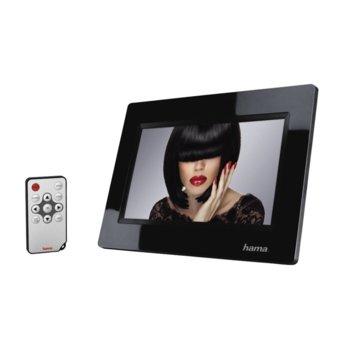 """Фоторамка Hama View 95267, 7.0"""" (17.78 cm), WVGA, поддържа SD/SDHC карти, USB, дистанционно, черна image"""