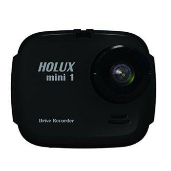 """Видеорегистратор Holux mini1, камера за автомобил, HD(1280x720/30fps), 1.4"""" (3.56 cm) TFT дисплей, microSD до 32GB image"""