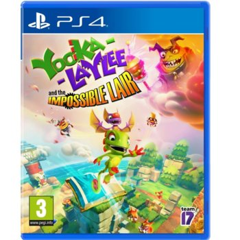 Yooka-Laylee and the Impossible Lair PS4 product
