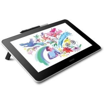 """Графичен таблет Wacom One 13 (черен)(DTC133W0B), 13.3"""" (33.78 cm) Full HD дисплей, 2540 lpi, 4096 нива на натиск, HDMI image"""