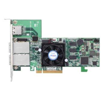 RAID Контролер Areca ARC-1882X, PCIe 3.0 към 2x Mini-SAS SFF-8088, SATA/SAS 6Gb/s, 2 портов, 1 GB RAM, поддържа RAID level 0, 1, 10(1E), 3, 5, 6, 30, 50, 60, Single Disk or JBOD image