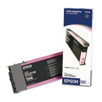 ГЛАВА ЗА EPSON STYLUS PRO 4000/7600/9600 - T5446 - Light Magenta - P№ C13T544600 image