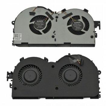 Вентилатор за Lenovo Legion Y520-15IKBM, R720-15IKBN, 8pin, 5V - 0.5A, за модели с видеокарта 1060Ti image