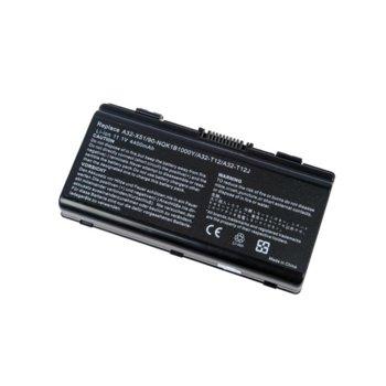 Батерия (заместител) за лаптоп Asus, съвместима със серия MX65 MX36 M51 MX66 MX51 MX45 MX52 MX35, 6 cells, 11.1V, 4400mAh image