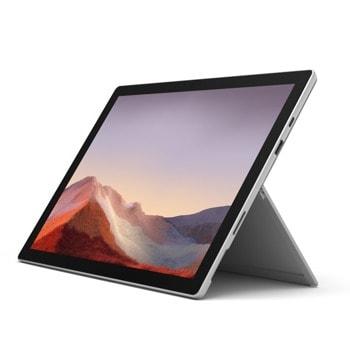 "Лаптоп Microsoft Surface Pro 7 (PVR-00003)(сив), четириядрен Ice Lake Intel Core i5-1035G4 1.1/3.7 GHz, 12.3"" (31.24 cm) PixelSense 10 point multi-touch Glare Display, (USB-C), 8GB, 256GB SSD, Windows 10 Pro, без клавиатура image"