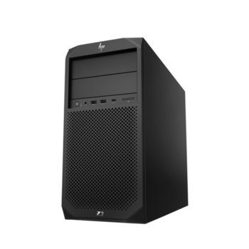 Настолен компютър HP Z2 Tower G4 (2YW27AV_70845065), шестядрен Coffee Lake Intel i7-8700 1.8/4.6 GHz, AMD Radeon Pro WX 4100 4GB, 32GB DDR4, 256GB SSD, 7x USB 3.0, клавиатура и мишка, Windows 10 Pro image