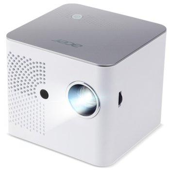 Преносим проектор Acer B130i, DLP, WXGA (1280x800), 1500:1, 400 lumens, HDMI, MicroSD, Wi-Fi image