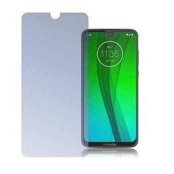 Протектор от закалено стъкло /Tempered Glass/, 4smarts, за Motorola Moto G7 image