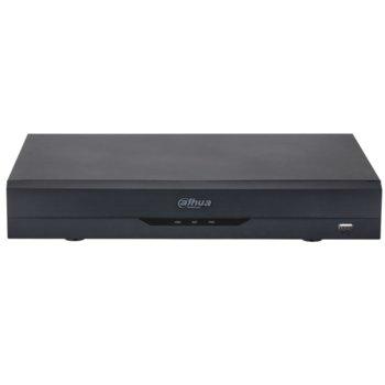 Хибриден видеорекордер Dahua XVR5116HS-I2, 16 канален, AI Coding/H.265+/H.265/H.264+/H.264, 1x SATA(до 1x 10TB), 1x USB 3.0, 1x USB 2.0, 1x LAN10/100/1000, 1x HDMI, 1x VGA, 1x RS485 image