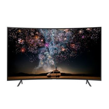 "Телевизор Samsung 49RU7372, 49"" (124.46 cm) Curved LED Smart TV, DVB-T2CS2, LAN, Wi-Fi, Bluetooth, 3x HDMI, 2x USB image"