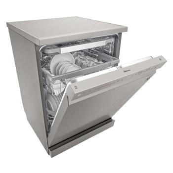 Съдомиялна LG DF325FPS, 14 комплекта, 10 програми, клас Е, технология TrueSteam, инокс image