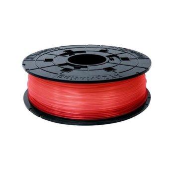 Консуматив за 3D принтер XYZprinting RFPLAXEU03K, касета с чип, PLA, 1.75 mm Ø, червен, 600 g image