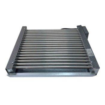 Електрическа скара RUBINO ЕС 2.75, нагреватели от неръждаема стомана, без капак, 2750W image