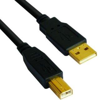 VCom USB A(м) към USB B(м) 3m CU201G-B-3m product