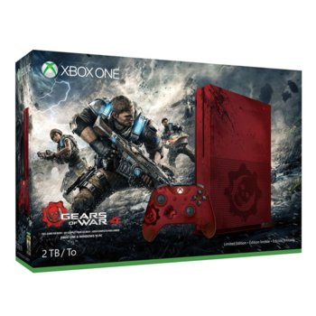 Microsoft Xbox One S LE 2TB Gears of War 4 product