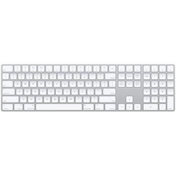 Клавиатура Apple Magic Keyboard, безжична, бяла, Bluetooth, Lightning port image