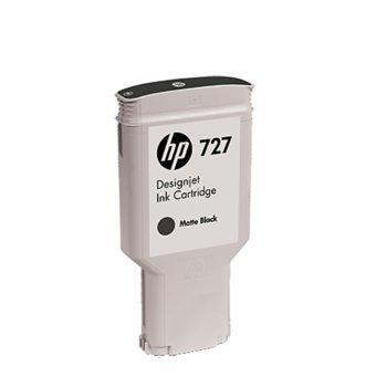 Мастило за HP DesignJet T730/T830 - Matte Black - 727 - P№ C1Q12A, 300ml image