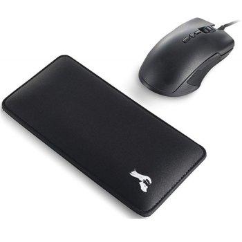 Подложка за китки Glorious GW-M, за мишка, черна, 200 x 100 x 13 mm image