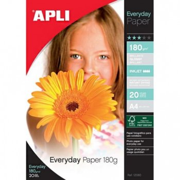 Apli Everyday, Гланцирана, A4,180 g/m, 20л. product