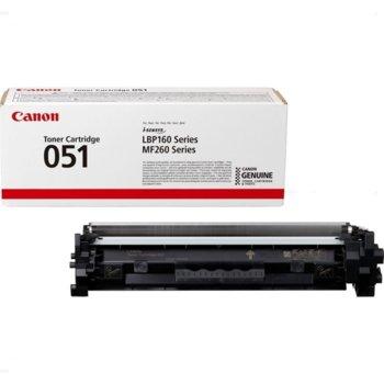 Тонер касета за Canon LPB162dw, MF269dw, MF267dw, MF264dw, Black, - CRG-051 - Canon - Заб.: 1750 k image