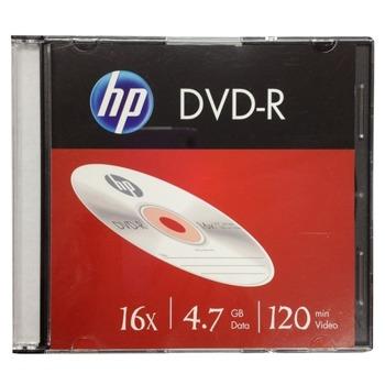 Оптичен носител DVD-R, 4.7 GB, HP, 16x, 1 бр. image