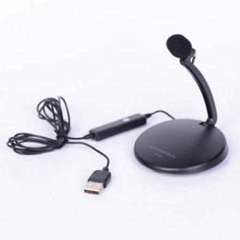 Микрофон COMP SF-911B, импеданс 2.2кΩ, черен image